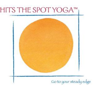 Hits the Spot Yoga Brattleboro VT logo
